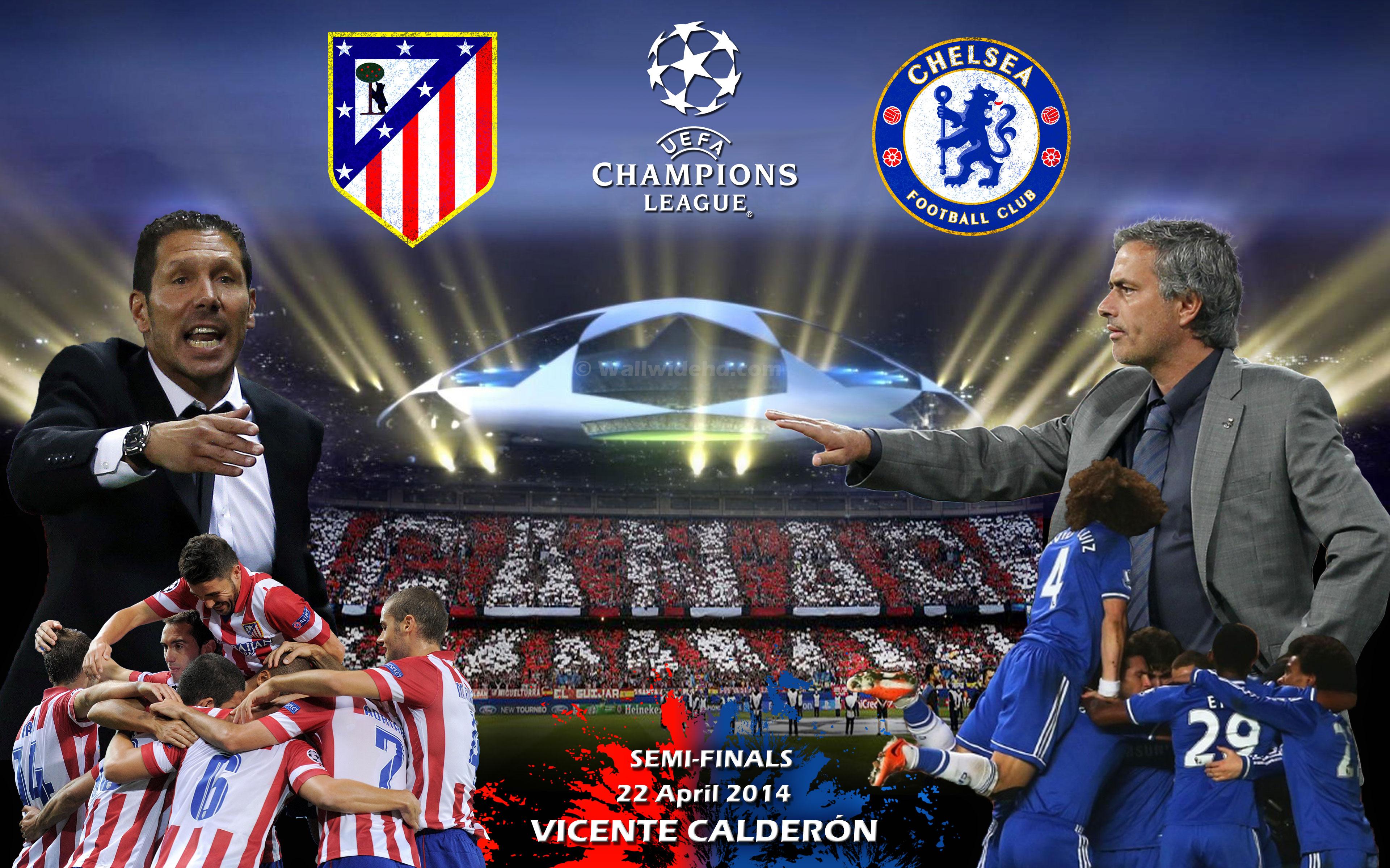 Contohatletico De Madrid Vs Chelsea Fc 2014 Champions League