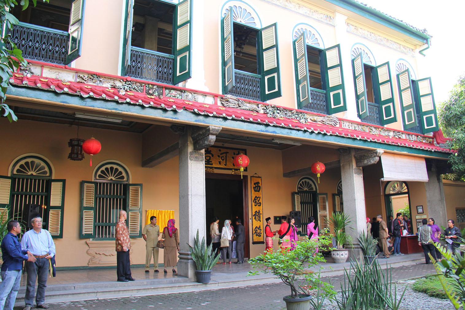 Wisata Rumah Sejarah Tjong A Fie