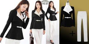 HL==Baju Kerja Wanita Work With Style Set ZC-A0685-3