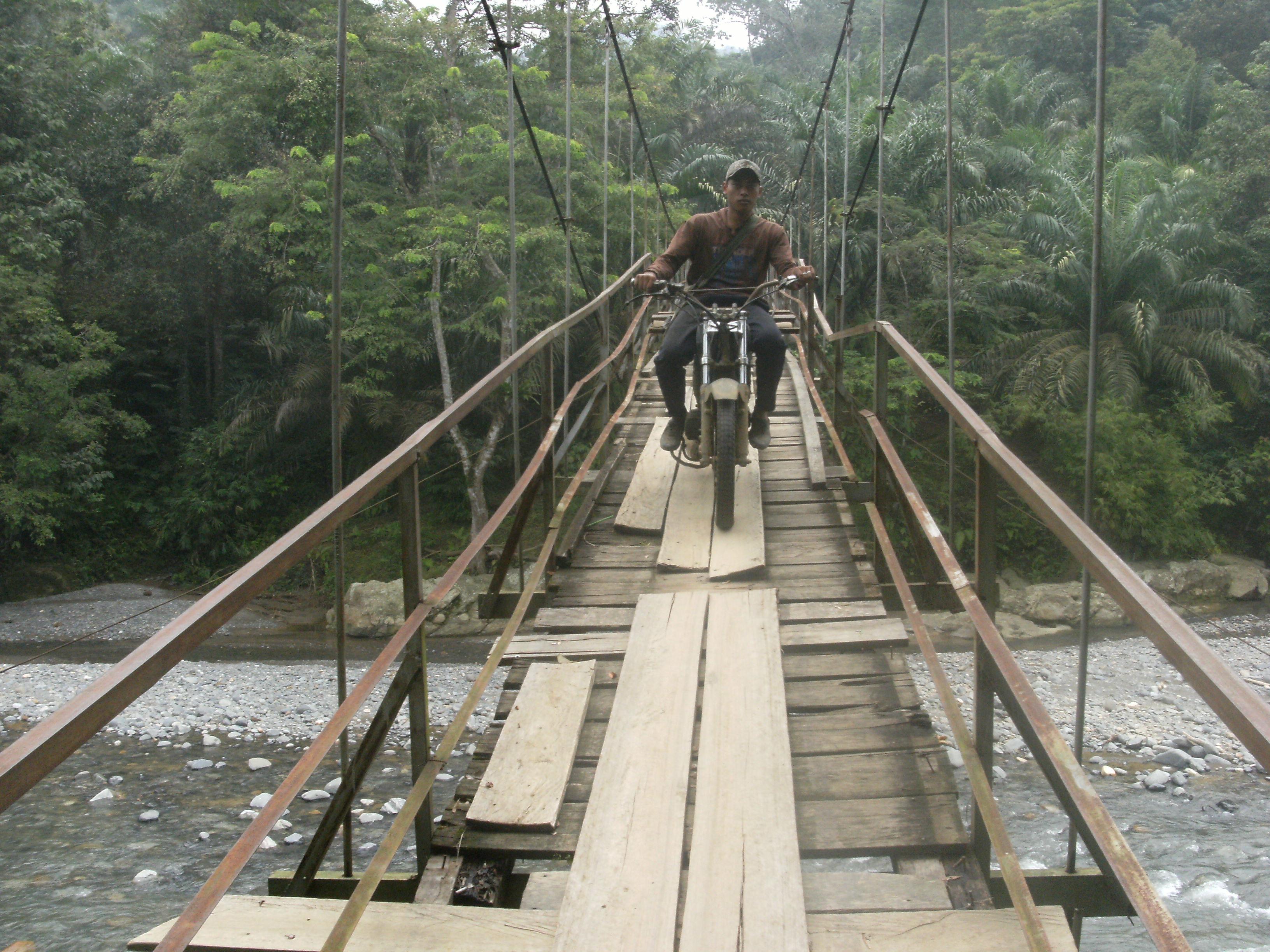 Jembatan Wisata Batu Katak Nyaris Putus Jurnal Asia