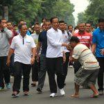 Jokowi Berbaur di Car Free Day