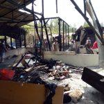 Satu Unit Rumah Terbakar di Sipoholon