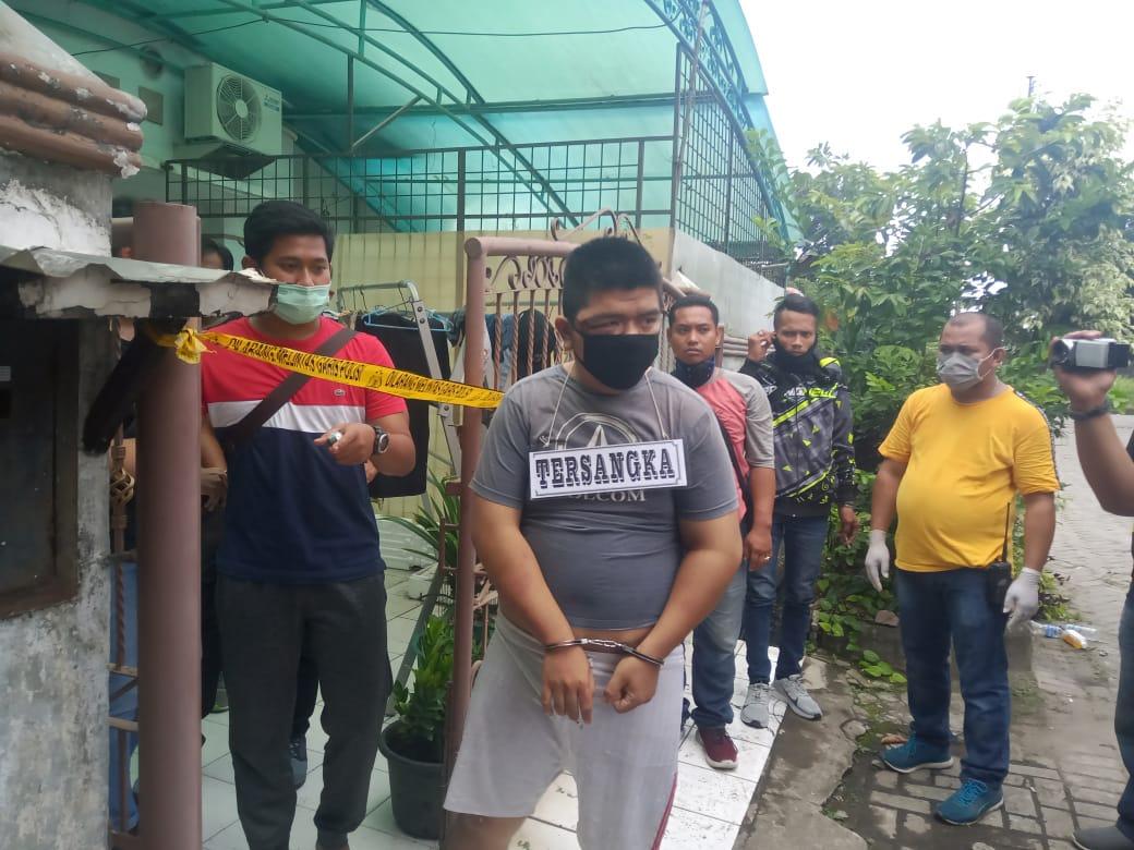 Polisi Gelar Pra-rekonstruksi Pembunuhan Cemara Asri, Ada 5 Orang Dihadirkan Tangan Diborgol