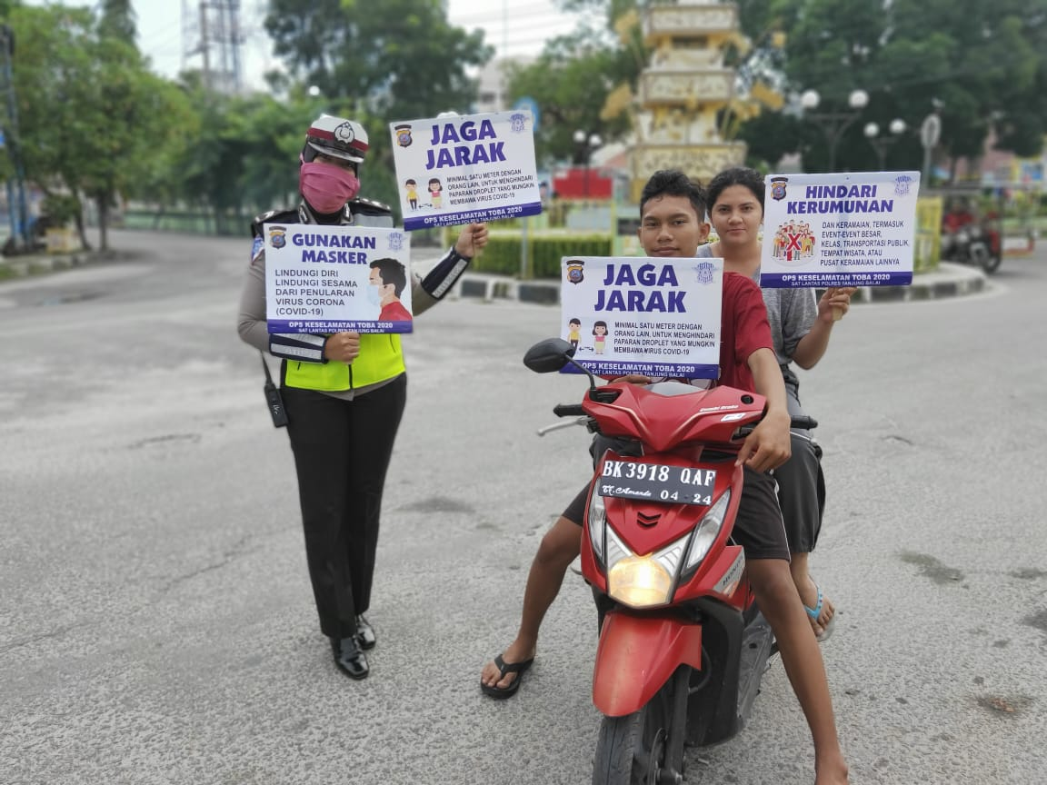 1 Orang Positif Covid-19 Meninggal di Tanjungbalai, Polisi Ajak Warga Disiplin Cegah Corona