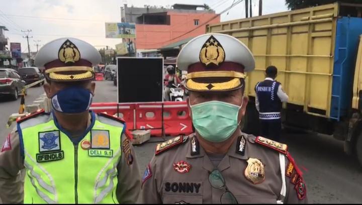 110 Titik Jalan di Medan Disekat Saat Malam Takbiran, Ini Lokasinya !