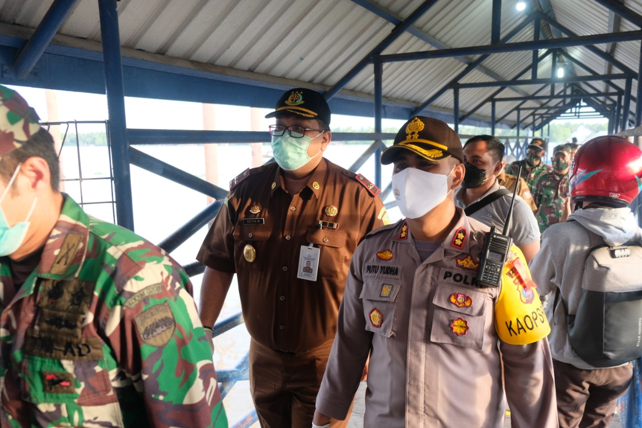 Forkopimda Tanjungbalai Sambut Kedatangan 146 TKI Asal Malaysia