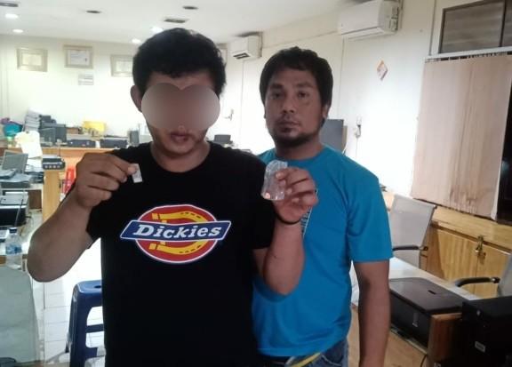 Lagi Asyik Main Dingdong di Tanjungmulia, Pengecer Narkoba Ini Kaget Dijemput Polisi