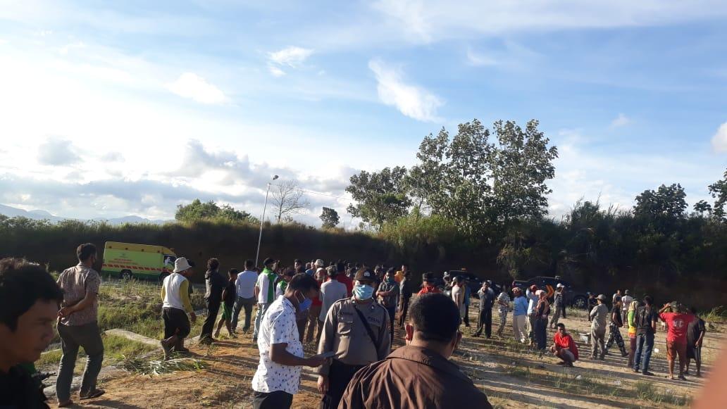 Duh, Prosesi Pemakaman Jenazah PDP Asal Medan Tuai Penolakan Warga di TPU Desa Salit! Ini Penyebabnya