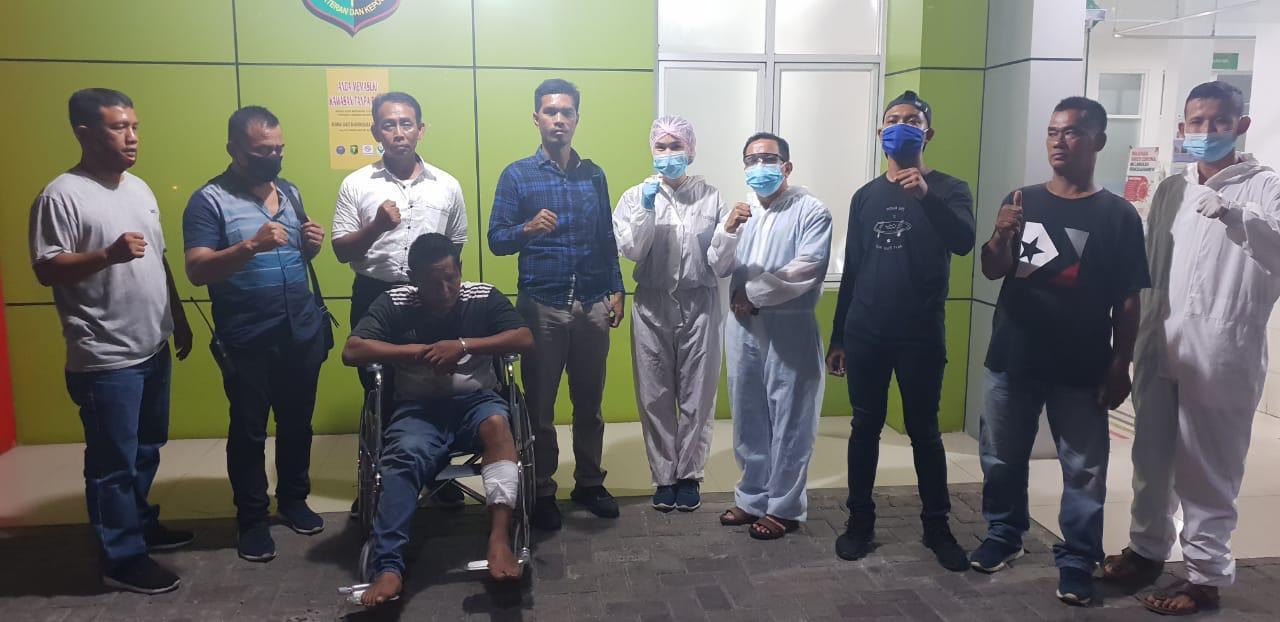 Polisi Tembak Joki Penjambret yang Buat Korbannya Jatuh Terseret di Perumnas Mandala