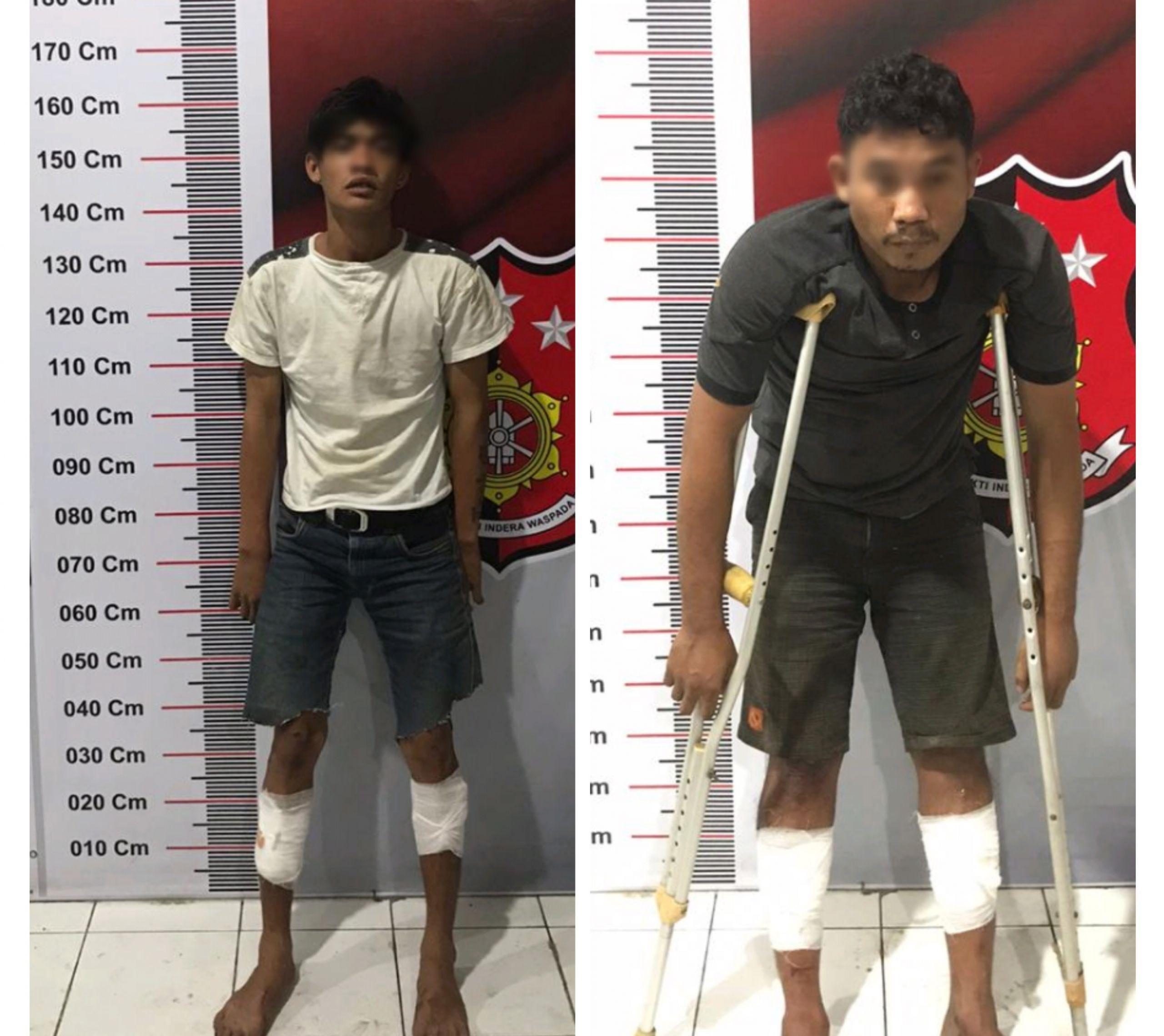 Curi Sepedamotor di Minimarket Johor, Eks Napi Asimilasi Ambruk Diterjang Timah Panas Polisi