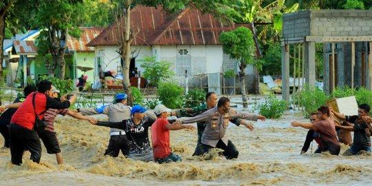 Banjir Bandang di Gorontalo, 2.504 Rumah Terdampak dan 400 Warga Mengungsi