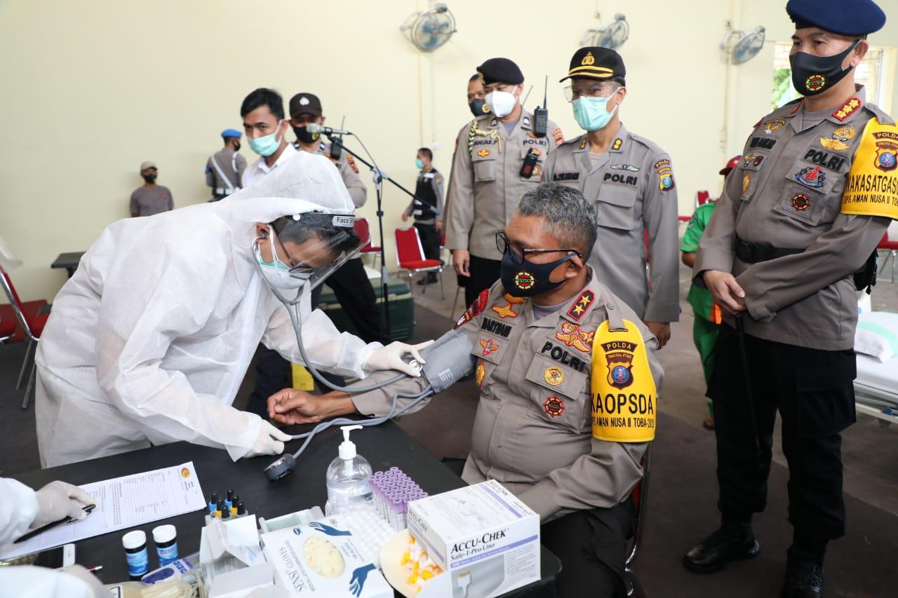 Sambut HUT ke-74 Bhayangkara, Polda Sumut Gelar Donor Darah