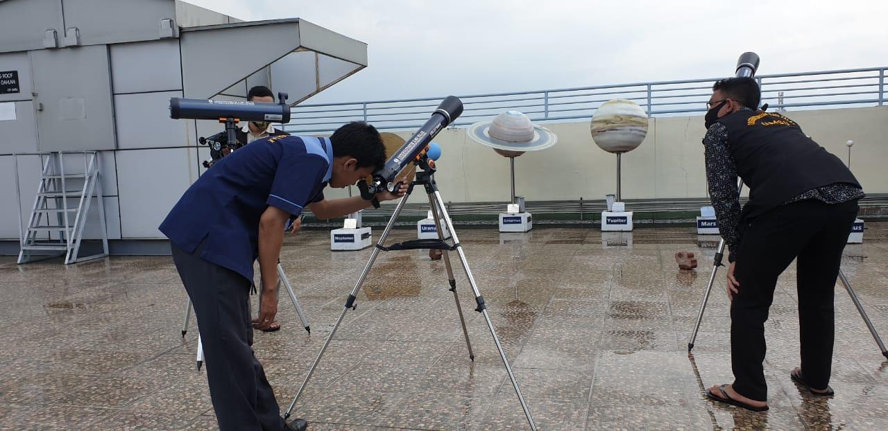 Faktor Cuaca, Gerhana Matahari Tidak Terlihat di Medan