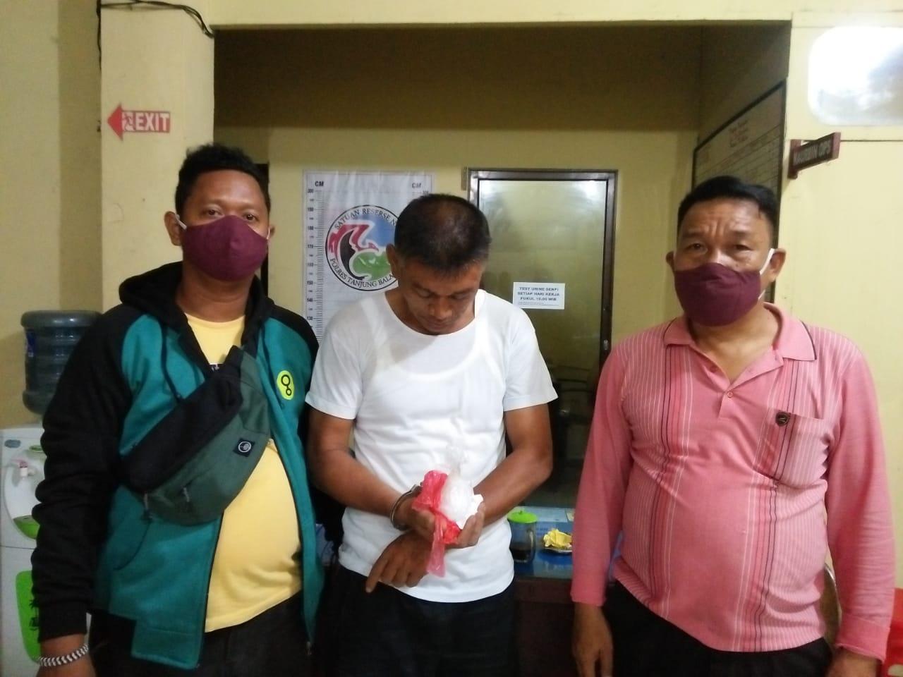 Polres Tanjungbalai Bekuk BD Narkoba di Teluk Nibung, 112,48 Gram Sabu Disita