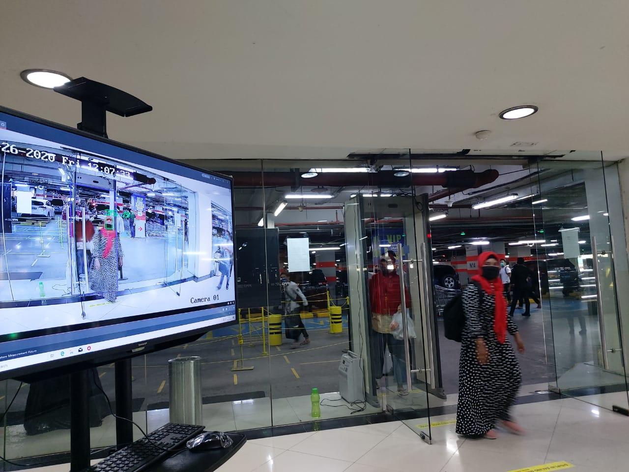 Menuju New Normal, Mal di Medan Pasang Thermal Camera dan Lift Tanpa Sentuh Tombol