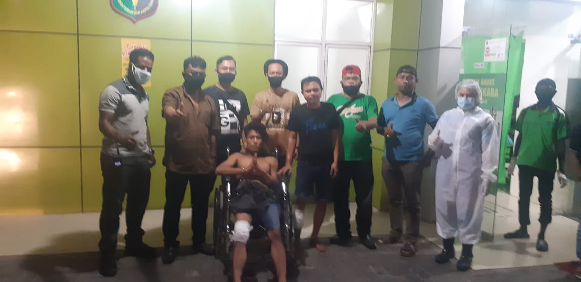 Dua Gembong Curanmor di Sunggal Terkapar Ditembak Polisi
