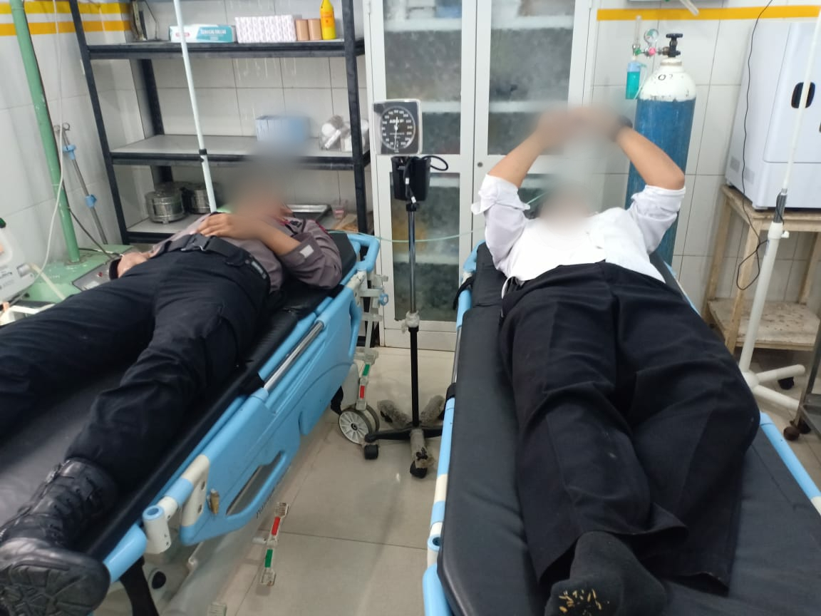 Ricuh Demo di Madina, 6 Anggota Polisi Luka-luka Dilempari Massa