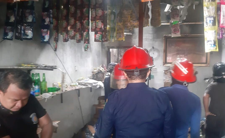 Kebakaran Hanguskan 2 Unit Ruko di Marelan, 1 Luka Bakar