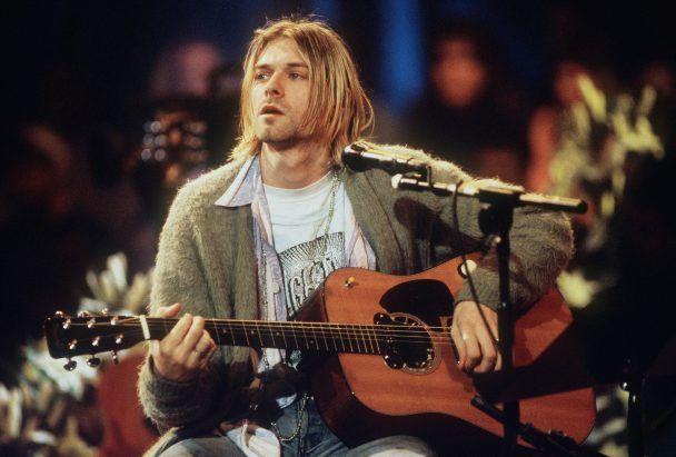 Wuih, Gitar Akustik Kurt Cobain Laku Dilelang Rp 85,4 Miliar