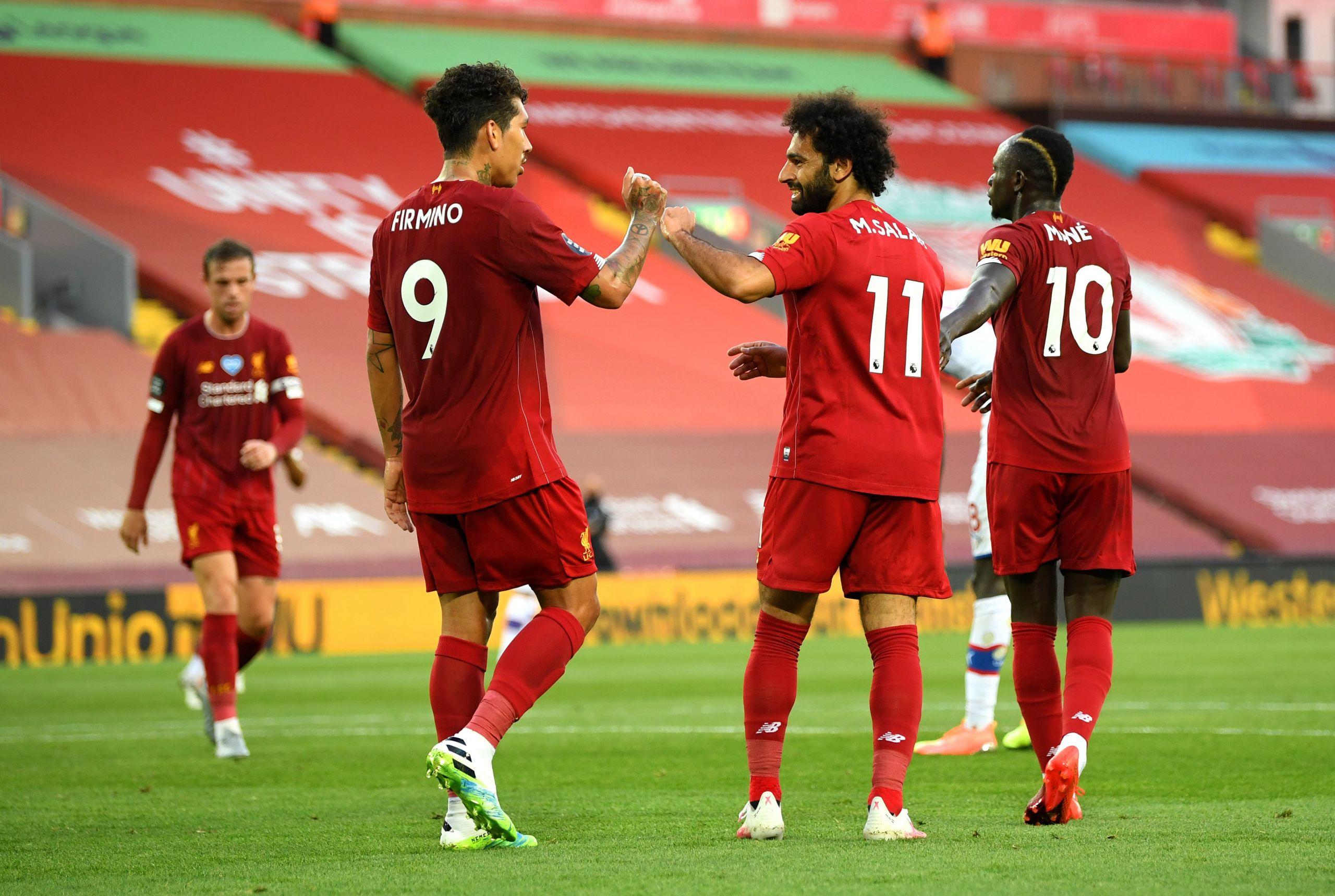 Menang Telak Lawan Crystal Palace, Liverpool Dekati Takhta Juara