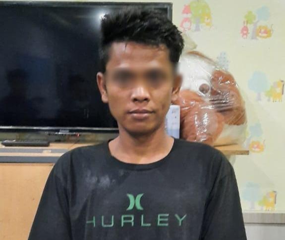 Polrestabes Medan Bekuk Pelaku KDRT di Bengkel Sepedamotor Jl Tuamang