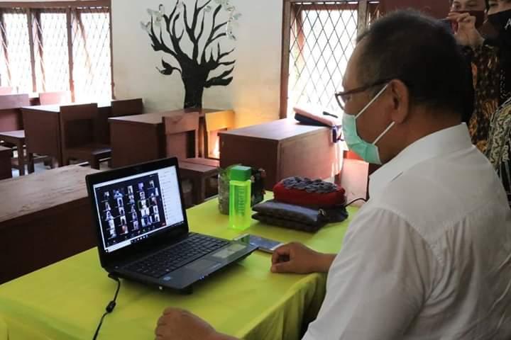 Pandemi Covid-19 di Medan Belum Berakhir, Aktivitas Belajar Anak Sekolah Dilakukan Secara Daring
