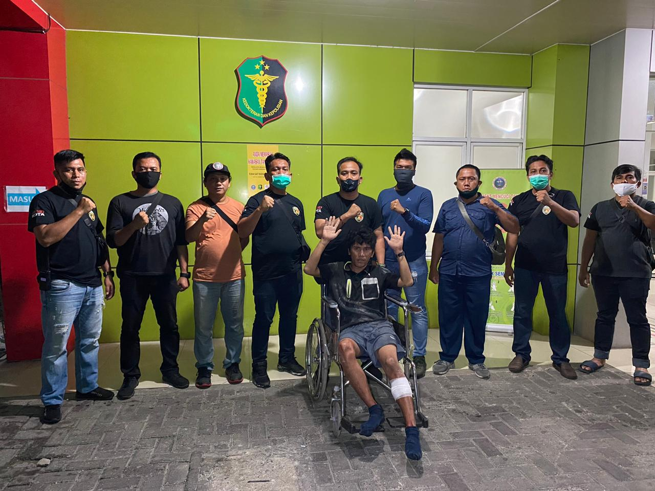 Jambret HP Wartawati, Bandit Jalanan Ini Terkapar Ditembak Polisi di Jl Pelangi