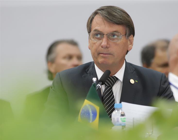 Presiden Brasil Jair Bolsonaro Positif Covid-19