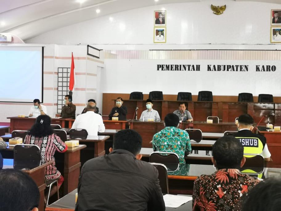 Bupati Karo Minta DPRD Sumut Perjuangkan Pembangunan Jalur Sejajar Medan-Berastagi