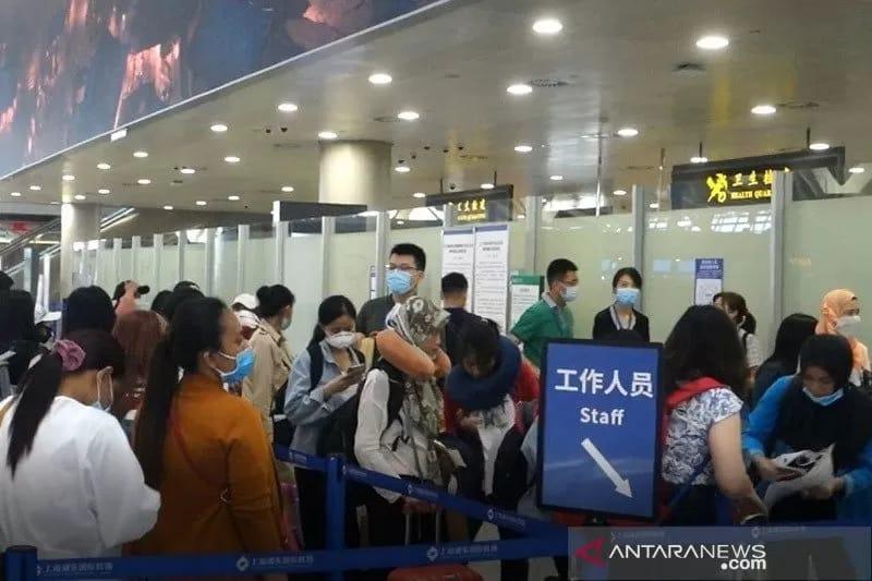 270 WNI dari China Kembali ke Indonesia