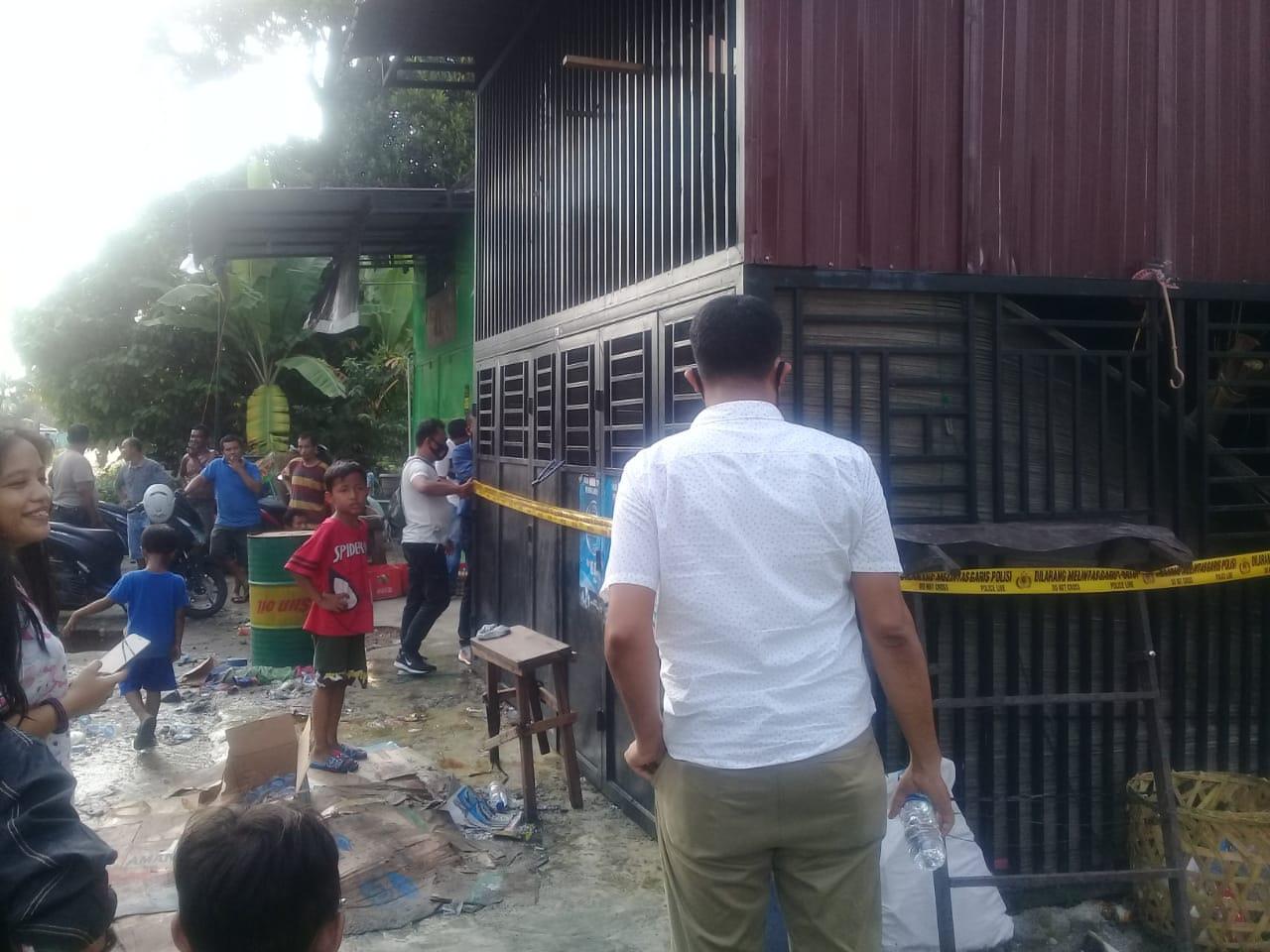 Kebakaran di Ruko Tanjung Gusta Renggut 1 Korban Jiwa