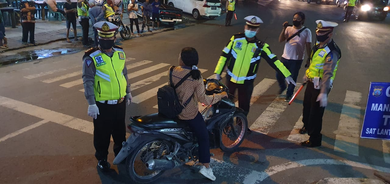 Razia di Jl Jamin Ginting, Polrestabes Medan Amankan 20 Sepedamotor Pakai Knalpot Blong