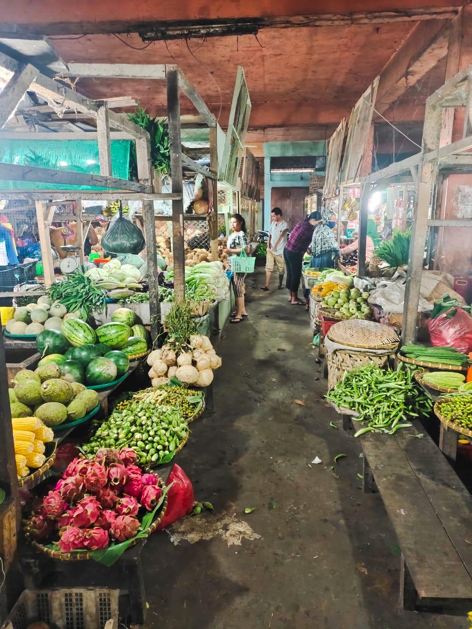 Carut Marut, Pasar Tradisional Losd Jahe Jahe Berastagi Terancam Gulung Tikar