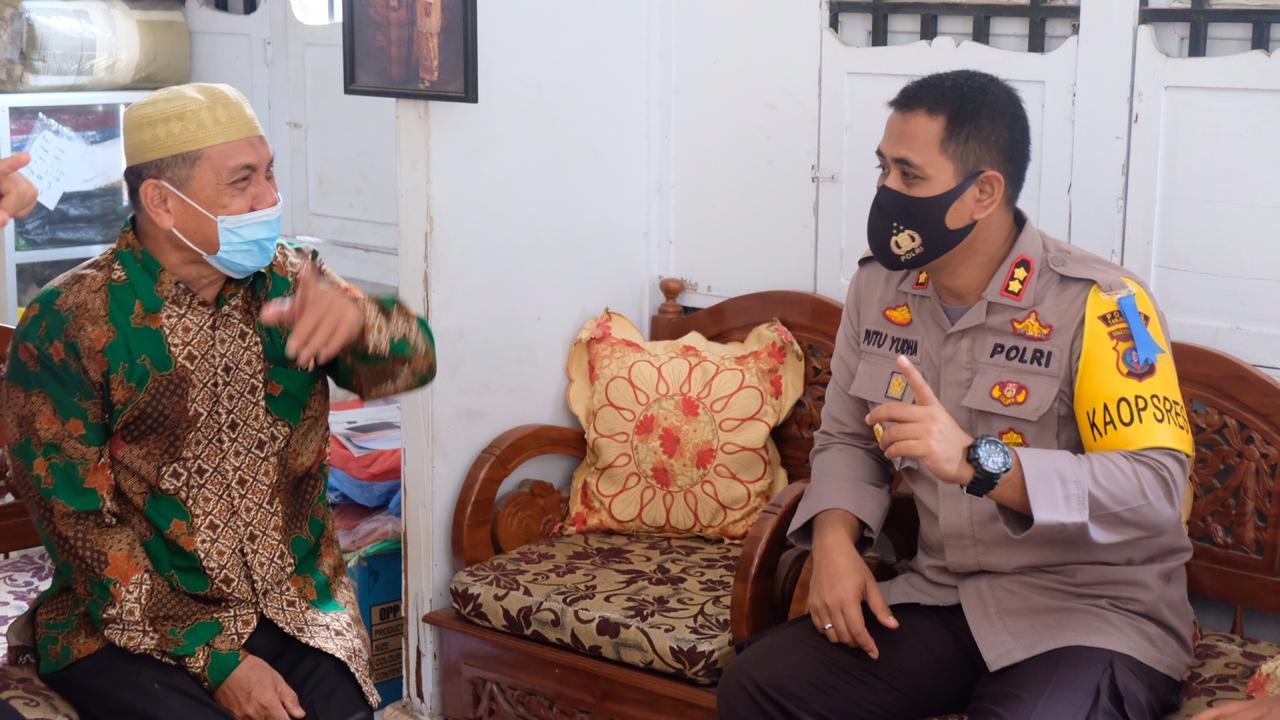 Pererat Kerukunan Antar Umat, Kapolres Tanjungbalai Kunjungi Tokoh Agama