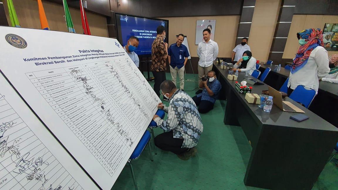 Poltekpar Medan Menuju Zona Integritas Bebas Korupsi