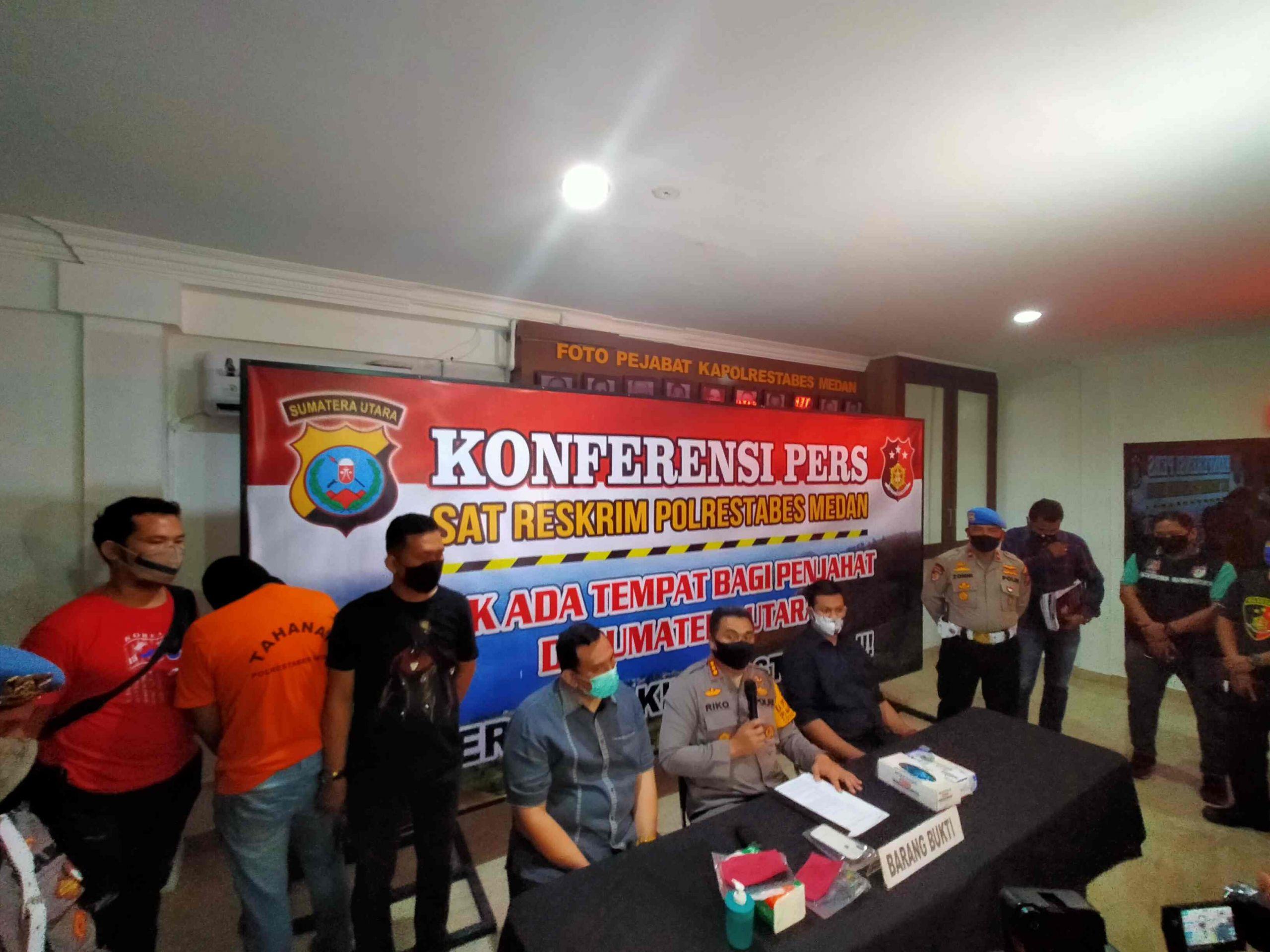 BREAKING NEWS : Polrestabes Medan Tahan 1 Tersangka Kasus Prostitusi Artis FTV