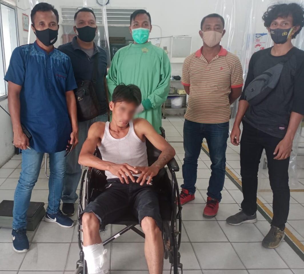 Masuk Lewat Jendela, Maling Rumah di Marelan Tumbang Ditembak Polisi