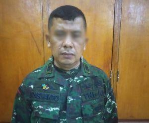 Anggota TNI gadungan diamankan. Ist