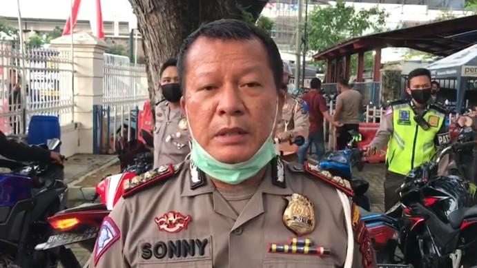 Nekat Pakai Knalpot Racing di Medan, Pengendara Siap-siap Ditilang Polisi