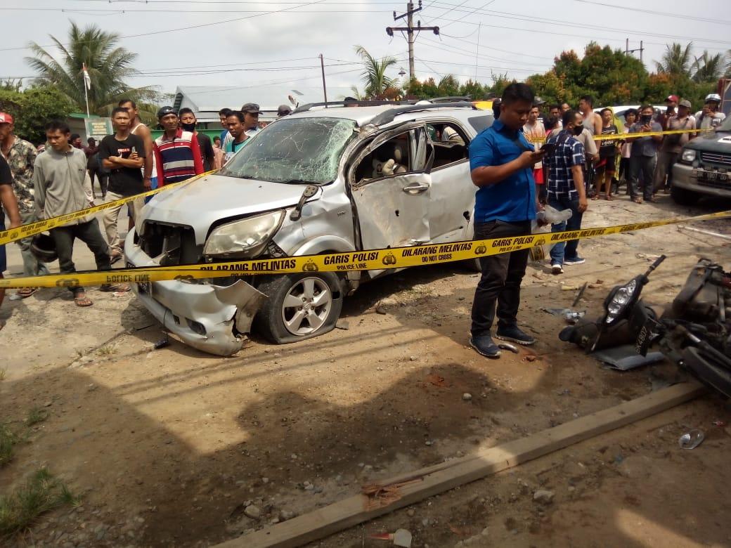 Ledakan Hancurkan Bengkel Las di Tandem, Dipastikan Bukan Karena Unsur Bom