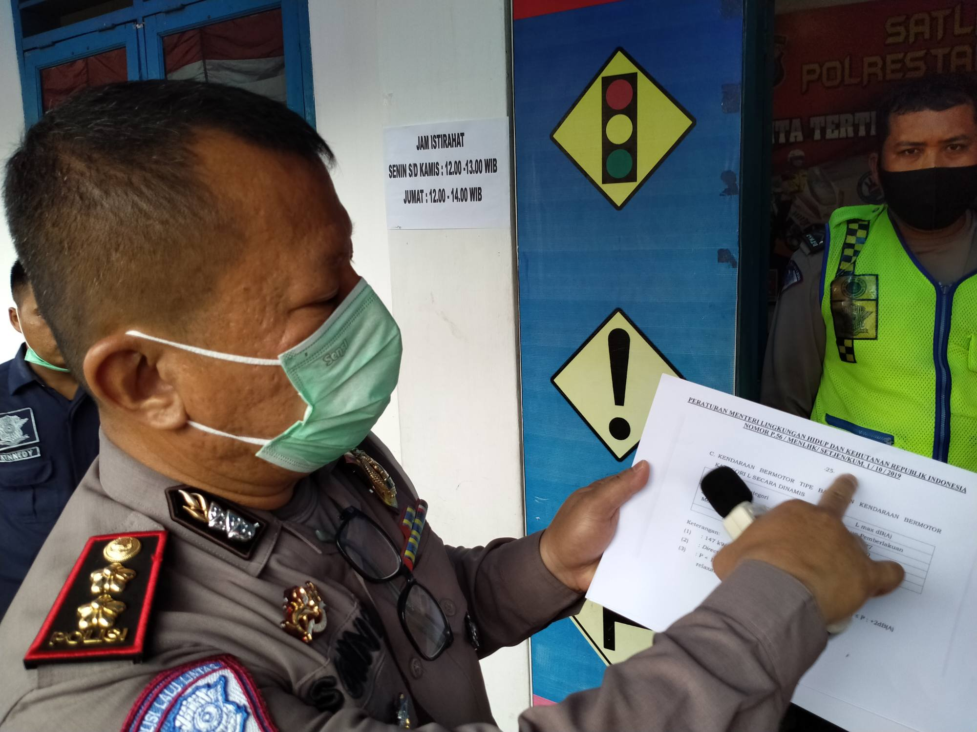 Polrestabes Medan Gunakan 'Sound Noise Level' Tindak Pengendara Pakai Knalpot Blong
