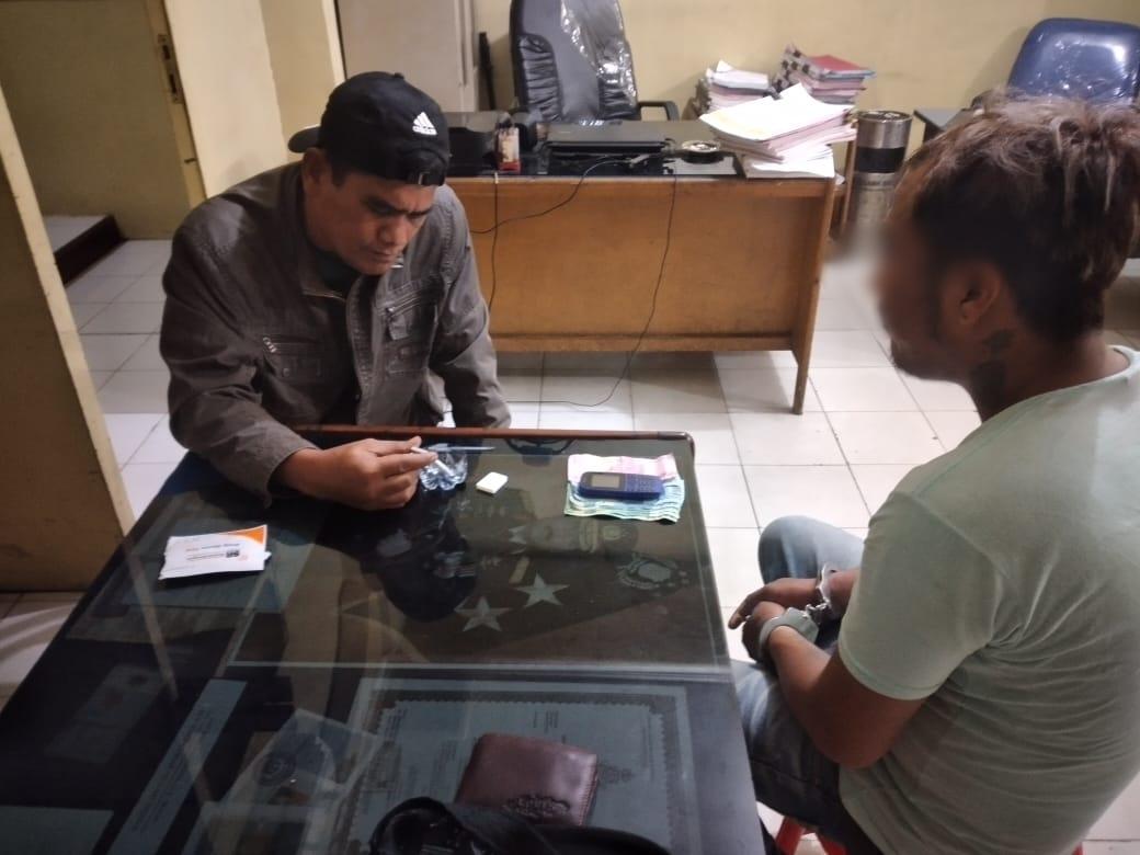 Bawa Narkoba, Bimbim Ditangkap Polisi di Jl Husni Thamrin