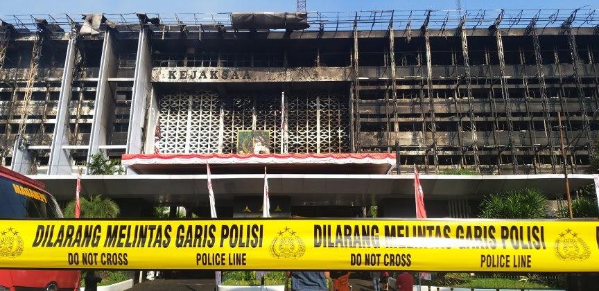 Kebakaran Gedung Kejaksaan Agung, Arsip Penyelidikan Aman dari Kobaran Api